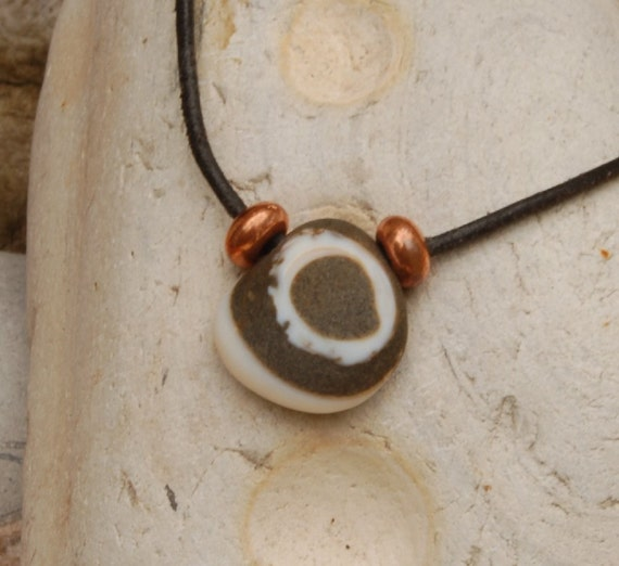 Fossil Beach Rock Necklace