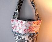 SALE Garden Oilcloth Bag - by Riff Raff