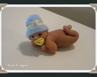 Sweet baby boy doll