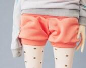 Peach shorts MSD size