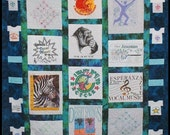 T Shirt Quilt Pattern Digital Download