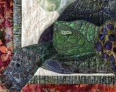 TORTOISE QUILT - Lookin' For Love Tortoise Wall Quilt Pattern