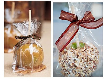 100/pk - C22 Cellophane Bags - Snack Bags - Candy Apple Bags
