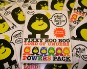 Fixxy Boo Boo LORD OF UNDERS postcard set