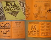 All Flavors Welcome Activity Book