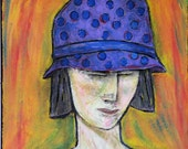Girl with the Polka Dot Hat
