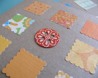 Handmade card set of 4   Not Like The Others