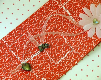 Handmade card and envelope---Kisses and Hugs