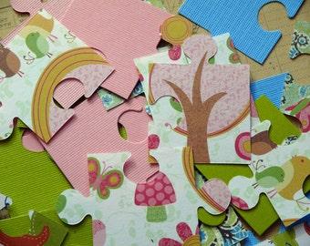 Paper Puzzle Pieces------Puzzled