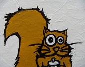 original yellow squirrel