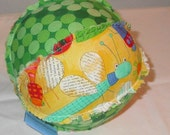 Lots of Bugs Large Cloth Rattle Ball