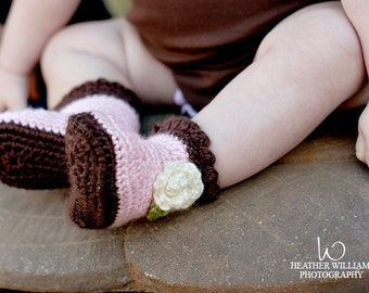Custom Order Request for Pull-On Baby Boots Size Newborn thru 12 months