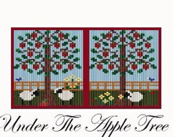 Under The Apple Tree Amulet Pattern Folk Art PDF