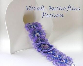 PDF  Vitrail Butterfly Bracelet Pattern  PDF