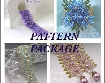 Pattern Package - Vitrail Butterfly, Versailles, Giverny, Spring Ring