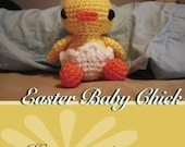 Amigurumi Easter Baby Chick - PATTERN
