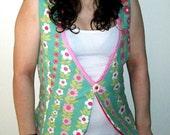 SIZE LARGE retro go-go vest (sale)