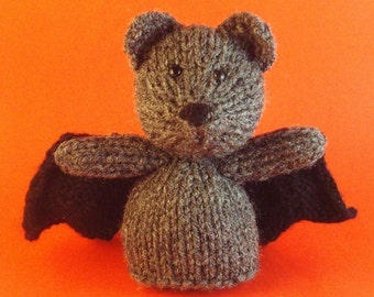 Bat Toy Knitting Pattern (PDF)