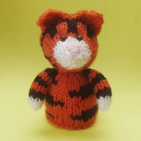 Tiger Toy Knitting Pattern (PDF)