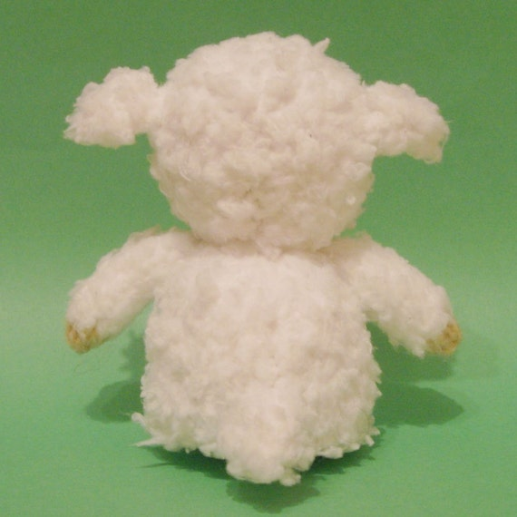 Sheep Toy Knitting Pattern PDF