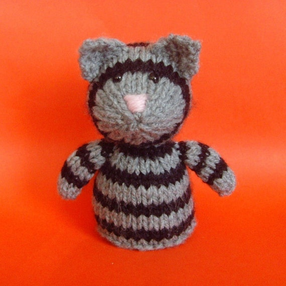 Cat Toy Knitting Pattern PDF by Jellybum on Etsy