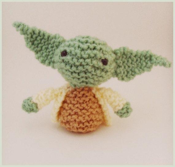 Knitted Amigurumi Star Wars Yoda Pattern (PDF)