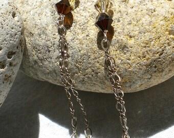 Swing-y Swarovski Crystal Earrings