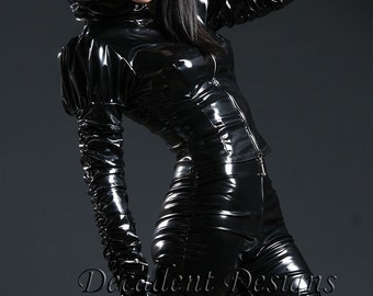 Black PVC Jacket-Made to order