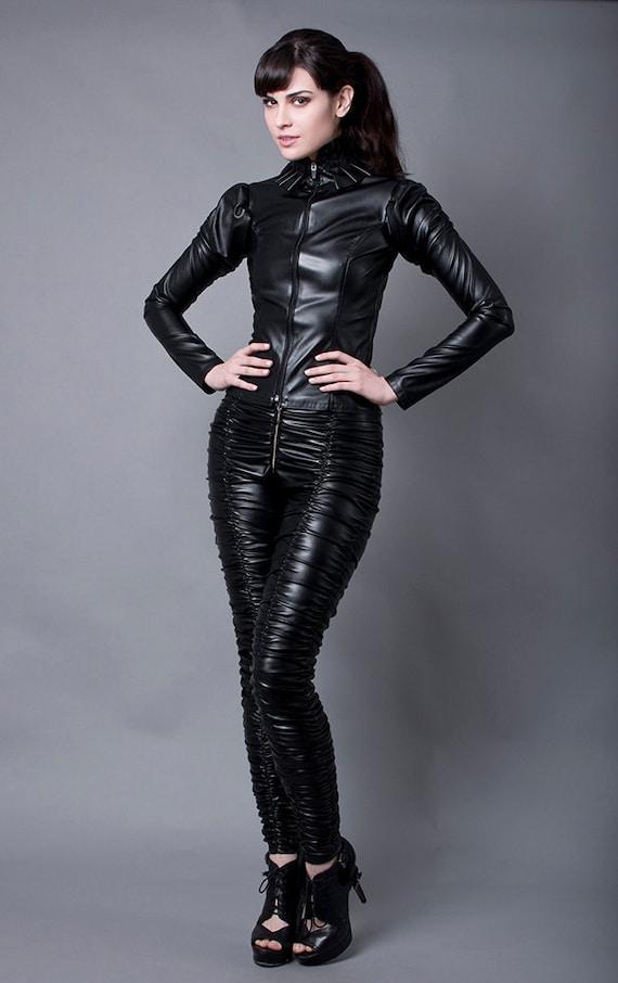 Leather Leggings Fetish