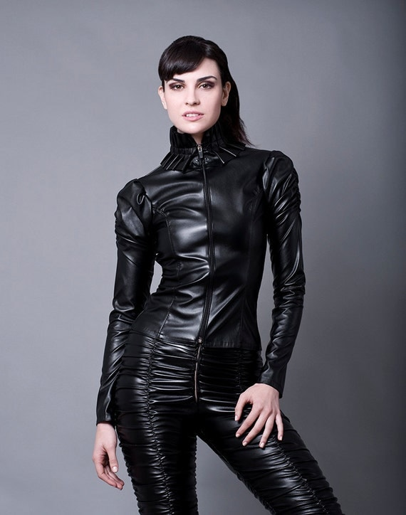 faux leather jacket made to order faux leather or pvc