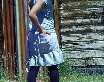 Whispering Wind-Ruffle Wrap Skirt-Size 10 to 15