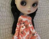 Blythe Poppies Dress