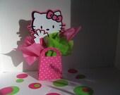 Hello Kitty centerpiece