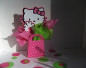 RESERVED for Felicia Hello Kitty birthday decorations