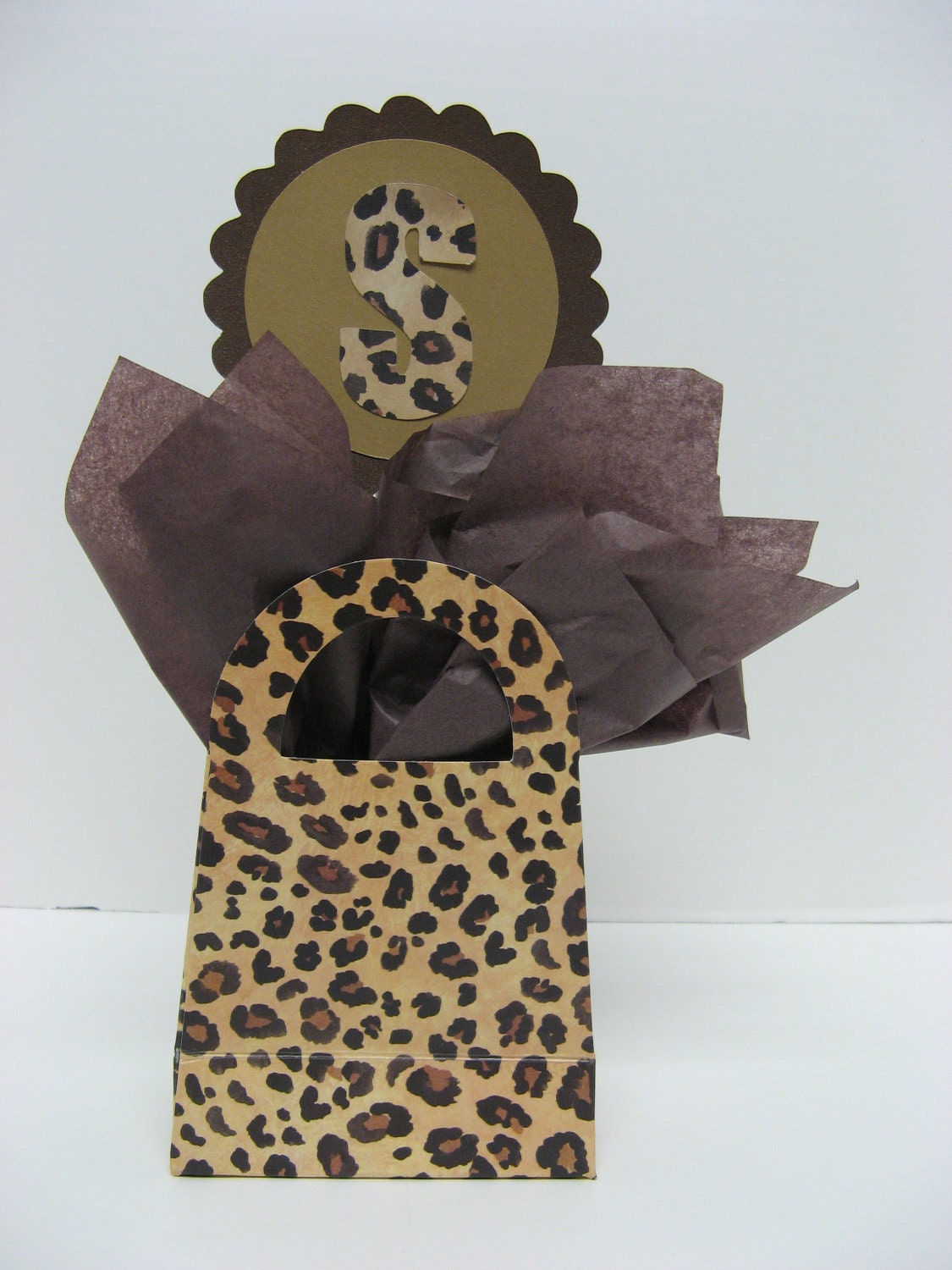 Cheetah Leopard Table Decoration Wedding Birthday