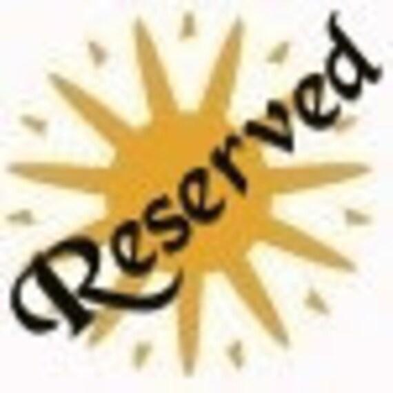 Reserved Listing for oldgoatprims