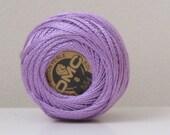 DMC 554 Light Violet Perle Cotton Thread Size 8