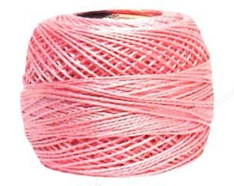 DMC Perle Cotton Thread Size 8 Baby Pink 605