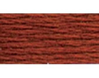 DMC 918 - Dark Red Copper - Perle Cotton Thread Size 8