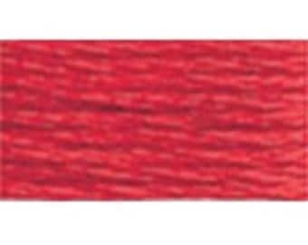 DMC 666 Bright Red Perle Cotton Thread Size 8