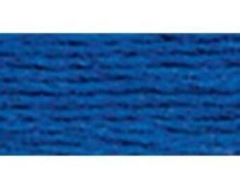 DMC 796 Dark Royal Blue Perle Cotton Thread Ball Size 8