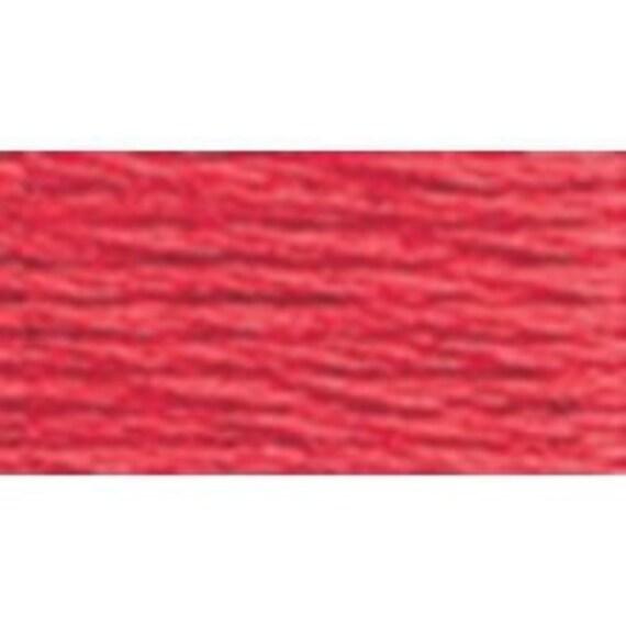 DMC 3801 - Size 8 - Very Dark Melon Perle Cotton Thread