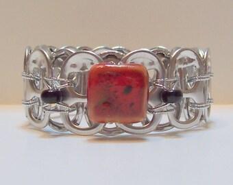 Ann-Made Pop Top Bracelet - Redbud
