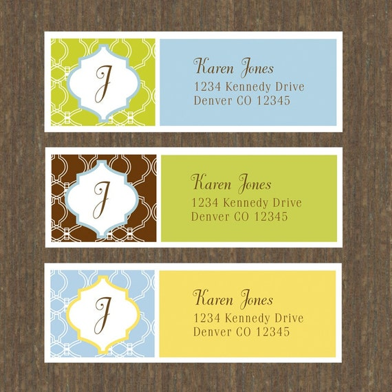Return address labels add a personal touch to your letters and packages. Create your custom return labels by uploading your designs or choose from thousands of customizable templates. Additional charges may apply for shipping and processing, and taxes, unless otherwise specified. Free offers only valid on the lowest quantity of each product.