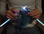 NeedleLite Lighted Knitting Needles, US Size 8 Long, 1 Pair