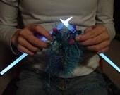 NeedleLite Lighted Knitting Needles, US Size 15, 1 Pair