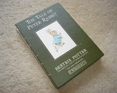The Tale of Peter Rabbit (an upcycled notebook)