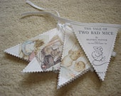 Beatrix Potter bunting - Tale of Two Bad Mice