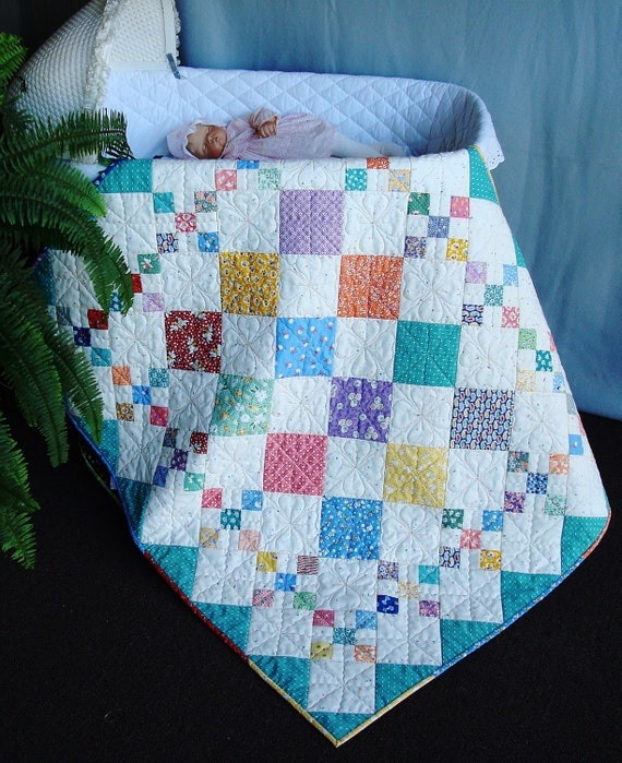 Diamond Patch Quilt Pattern PDF 415e by myquiltroom on Etsy