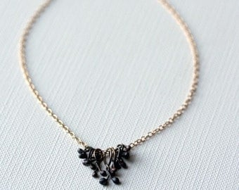 14K Gold-Filled Loop and Silver Tassel Necklace as seen on GMA